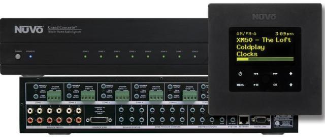 Nuvo Grand Concerto Multiroom Audio Lifier: Nuvo Home Audio Wiring Diagram At Satuska.co
